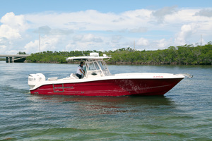34' Hydra-Sports 3400 CC 2012 Starboard View