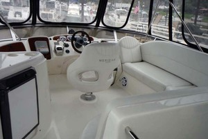 40' Meridian 408 Aft Cabin 2004 Bridge Looking Forward
