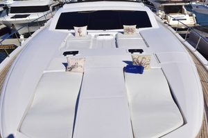 Solange II is a Rodriquez 80 Widebody Yacht For Sale in La Paz, Baja California Sur -Solange II Conam Rodriguez 2005 80' Widebody Bow Sunning Area-31