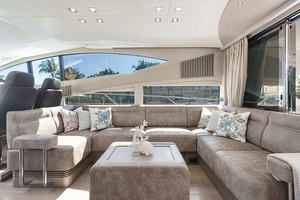 71' Sunseeker Sport  2014 Main Salon