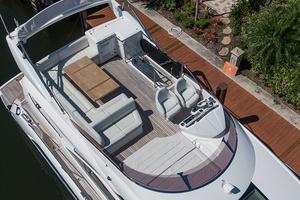 71' Sunseeker Sport  2014 Aerial Upper Deck