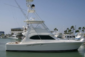 53' Riviera Convertible Sport Fisherman 2004 Port Profile
