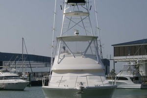 53' Riviera Convertible Sport Fisherman 2004 Bow View