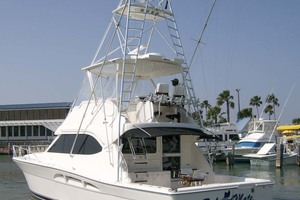 47' Riviera Convertible Sport Fisherman 2004 Starboard Profile