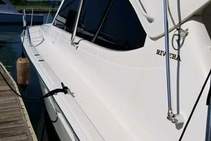 47' Riviera Convertible Sport Fisherman 2004 Starboard Side