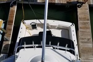 47' Riviera Convertible Sport Fisherman 2004 Tower Looking to Cockpit
