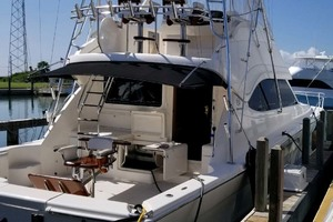 53' Riviera Convertible Sport Fisherman 2004 Port Side