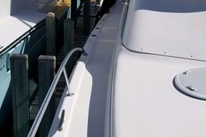 47' Riviera Convertible Sport Fisherman 2004 Port Side Deck