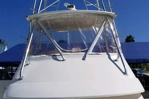 53' Riviera Convertible Sport Fisherman 2004 Custom Tower