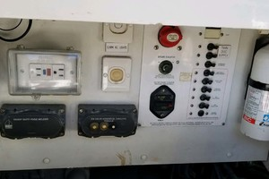 53' Riviera Convertible Sport Fisherman 2004 Engine Room Gauges