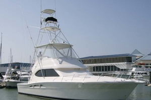 53' Riviera Convertible Sport Fisherman 2004 Port Bow