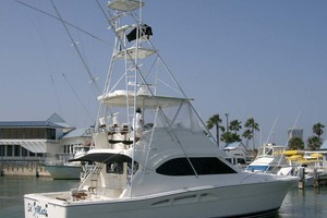 53' Riviera Convertible Sport Fisherman 2004 Port Stern