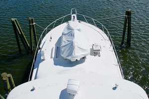photo of Viking-65-Enclosed-Bridge-Convertible-2001-TalkN-Trash-Orange-Beach-Alabama-United-States-Foredeck-1075832