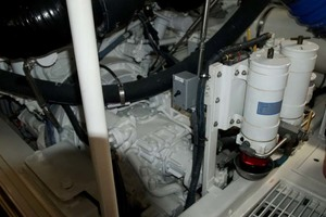 photo of Viking-65-Enclosed-Bridge-Convertible-2001-TalkN-Trash-Orange-Beach-Alabama-United-States-Engine-Room-1075900