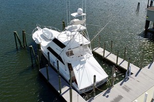 photo of Viking-65-Enclosed-Bridge-Convertible-2001-TalkN-Trash-Orange-Beach-Alabama-United-States-Stern-1075799