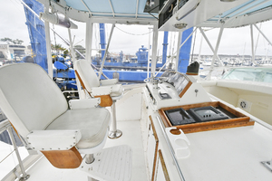 46' Bertram 46 Convertible 1979 Helm Seating