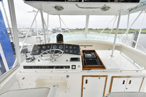 46' Bertram 46 Convertible 1979 Helm Station