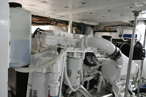 46' Bertram 46 Convertible 1979 Engine Room