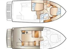 39' Mainship 395 Trawler 2010 Layout
