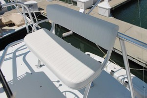 36' Bertram Moppie 1998 Flybridge Seat