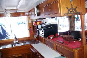 50' Grand Banks 50 Europa 1974 Galley_Upper Cabinetry_Aft