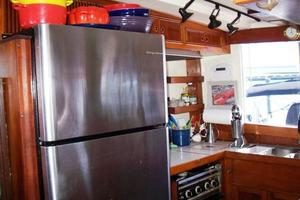 50' Grand Banks 50 Europa 1974 Galley SS Fridge & Freezer