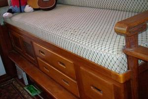 50' Grand Banks 50 Europa 1974 Pilothouse Seating Drawers
