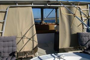 50' Grand Banks 50 Europa 1974 Flybridge Hardtop Aft Enclosure
