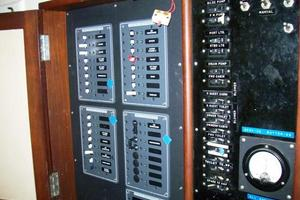 50' Grand Banks 50 Europa 1974 Electrical Panels_Upgraded & Labeled