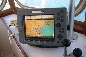 50' Grand Banks 50 Europa 1974 Pilothouse Raymarine E80 GPS Multi-Display