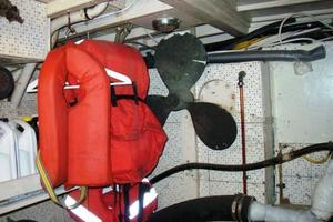50' Grand Banks 50 Europa 1974 Engine Room_Spare Prop