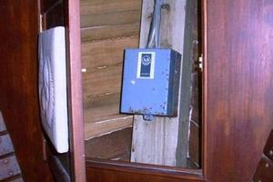 50' Grand Banks 50 Europa 1974 V-Berth Access to Windlass Electrical Box