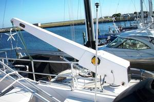 50' Grand Banks 50 Europa 1974 Davit on Flybridge
