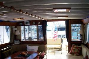 50' Grand Banks 50 Europa 1974 Salon_Aft