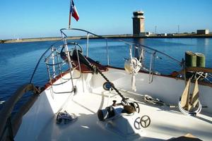 50' Grand Banks 50 Europa 1974 Foredeck