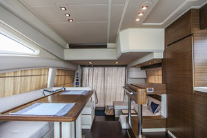 54' Azimut Flybridge 2014 Lower Helm to Dinette and Salon