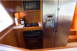 0' Offshore Pilothouse 2001 Galley