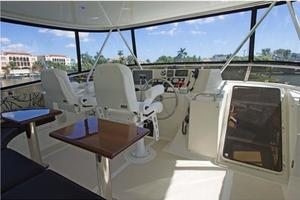 0' Offshore Pilothouse 2001 Flybridge