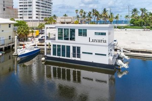 photo of Global-Boatworks-Luxury-House-Yacht-2017-Luxuria-Ft.-Lauderdale-Florida-United-States-Luxuria-in-her-$25,000/month-Income-Producing-Slip-at-Bahia-Mar,-Ft.-Lauderdale,-FL-1099594