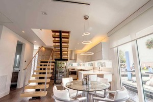photo of Global-Boatworks-Luxury-House-Yacht-2017-Luxuria-Ft.-Lauderdale-Florida-United-States-Dinette-and-Galley-1080778