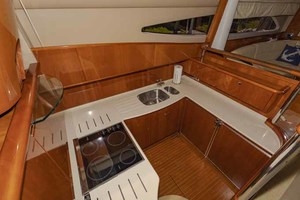 61' Viking Sport Cruiser 2003 Galley Looking Starboard