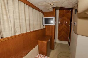 61' Viking Sport Cruiser 2003 Twin Cabin Looking Forward