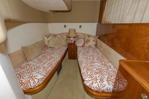 61' Viking Sport Cruiser 2003 Twin Cabin Portside Looking Aft