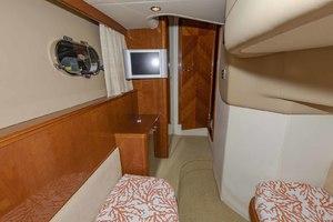 61' Viking Sport Cruiser 2003 Twin Cabin Looking Forward