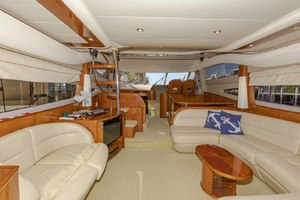 61' Viking Sport Cruiser 2003 Salon Looking Forward