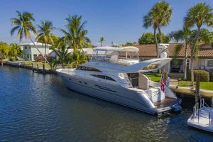 61' Viking Sport Cruiser 2003 Stern Quarter