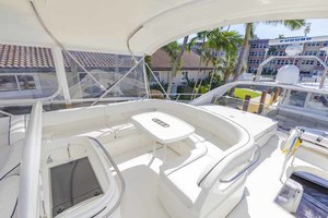 61' Viking Sport Cruiser 2003 Flybridge Aft