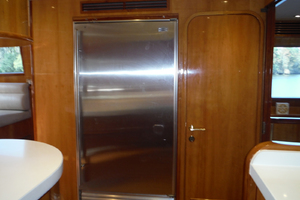 82' Hargrave Flybridge Motor Yacht 2001 Starboard Side Refrigerator
