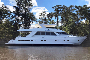 82' Flybridge Motor Yacht 2001  GRACE