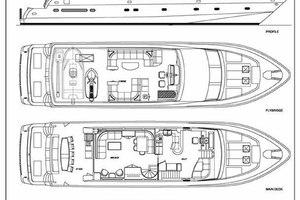 82' Hargrave Flybridge Motor Yacht 2001 GA